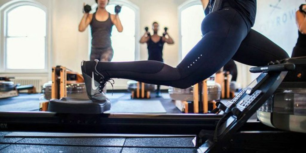 studio workouts to at-home smart rower and floor workouts
