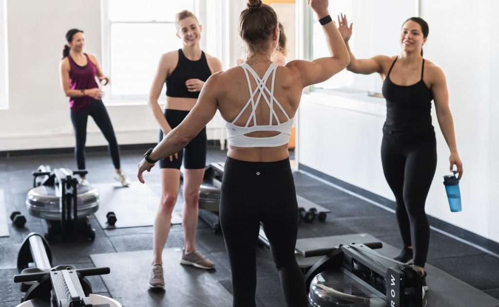 workouts and programming offered by CITYROW GO MAX