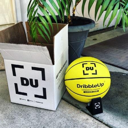 dribbleup box and logo