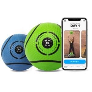 medicine balls and dribbleup app
