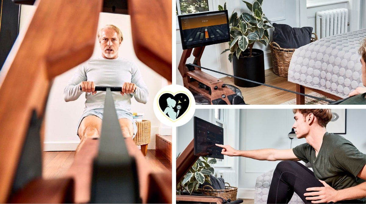 get full body workouts with plenty of choices (Ergatta rower)