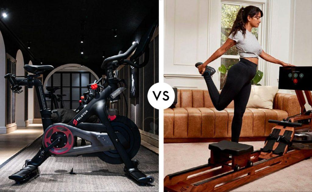 peloton bike vs ergatta rower
