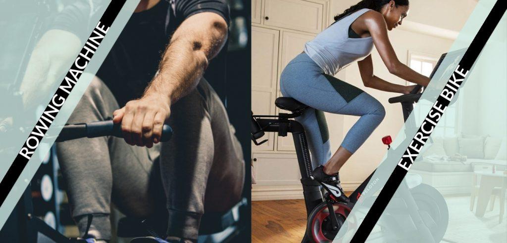 rowing machine versus exercise bikes featured image
