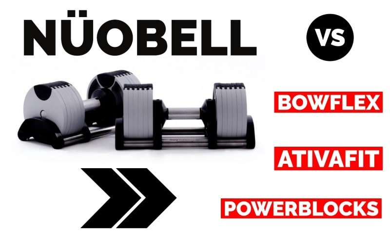 NÜOBELL vs other adjustable dumbbells
