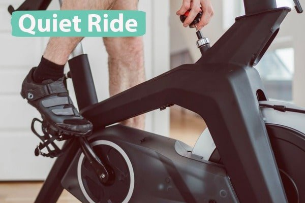 magnetic resistance for quiet ride