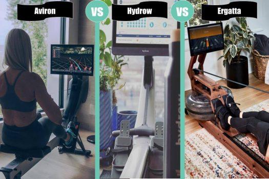 Comparison table: Aviron, Hydrow and Ergatta