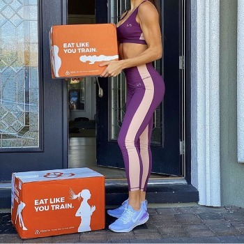trifecta's delivery box of healthy food