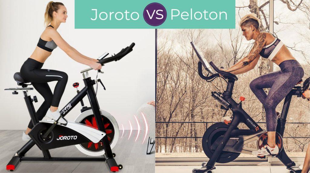 Joroto bike versus Peloton bike comparison