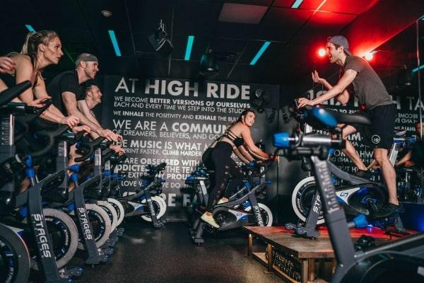 a high ride spin class