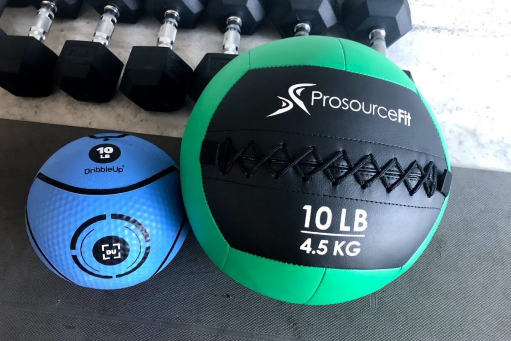 Full Arm Workout With Medicine Ball (From Home)