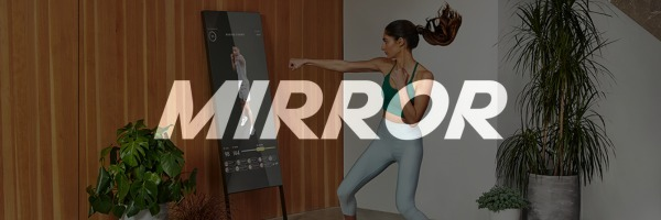logo of mirror and overview of workouts