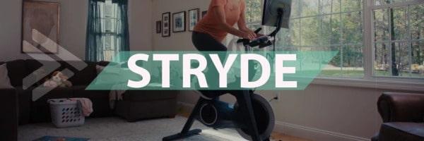 Stryde's indoor spin bike