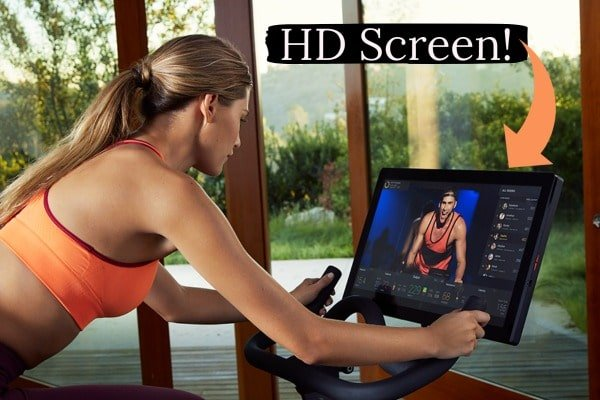 improve cycling experience with HD touchscreen