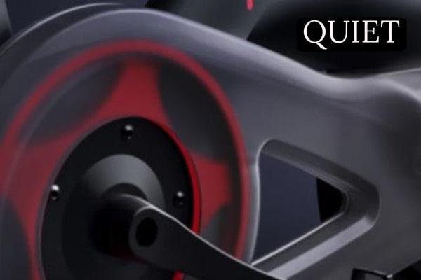 quiet magnetic resistance levels on peloton bike