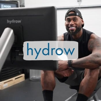 hydrow's rowing machine
