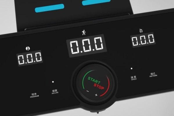 touchscreen control panel on joroto IW9 PRO