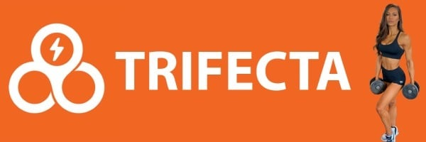 Trifecta's Logo and healthy meals