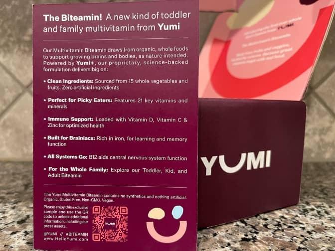 yumi's multivitamins biteamins benefits