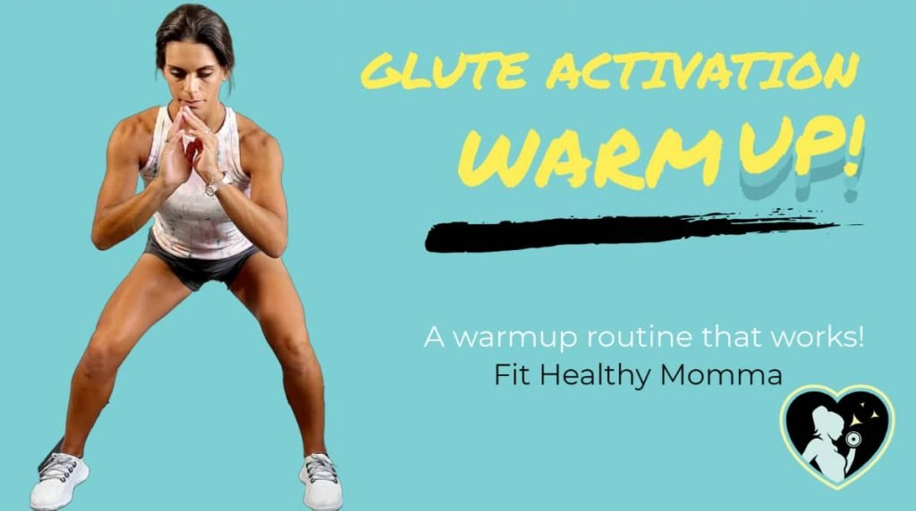 warmup for glute activation (without bands)
