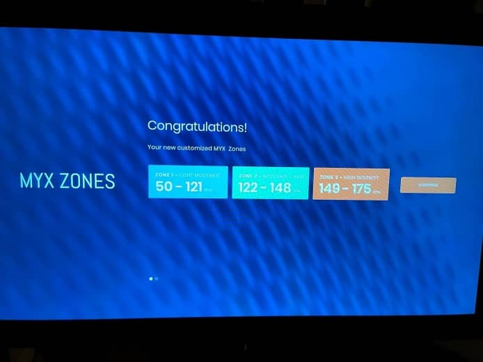 customized MYX zones (Fit Healthy Momma)