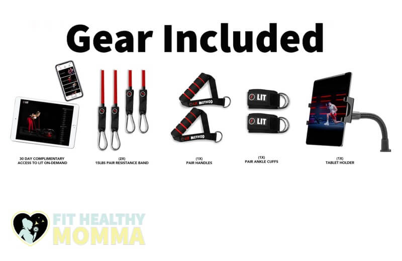 included gear and equipment