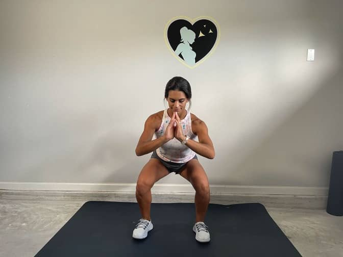position 2 for squat pulses