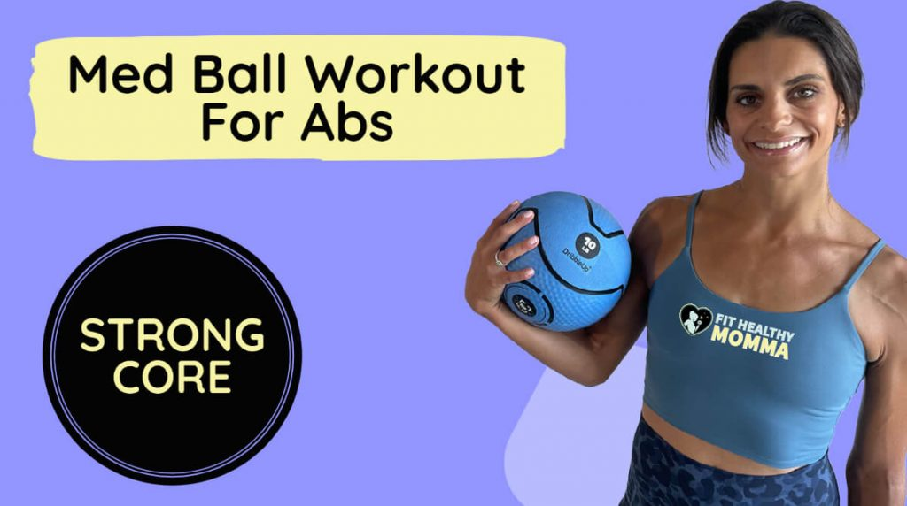 featured image - medicine ball workout for abs
