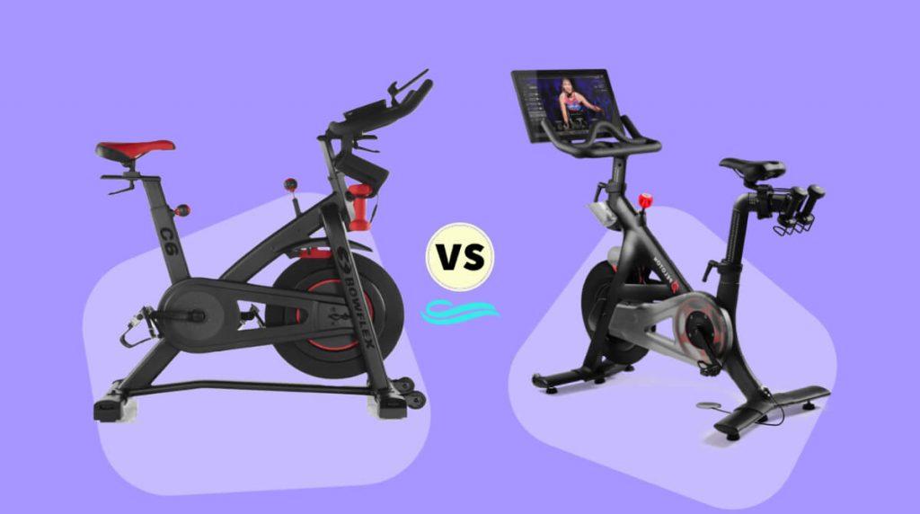 bowflex c6 vs. peloton spin bike comparison