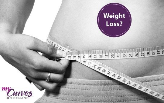 weight loss using my curves on demand