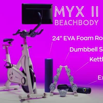 beachbody and myx II bike