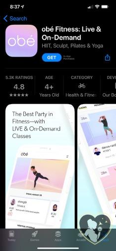 fiton alternative Obe fitness app