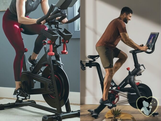 pedaling with 100 levels of resistance