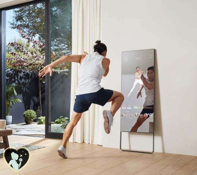 a cardio workout with mirror