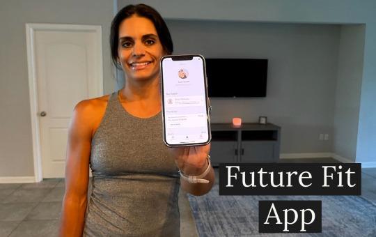tami smith holding future fitness app