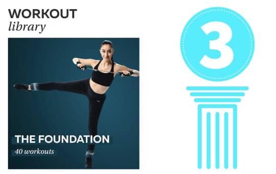 pvolves three pillars (foundation workouts)