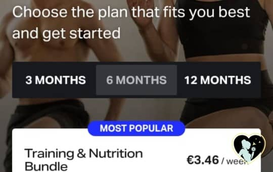 choosing freeletics workout plan