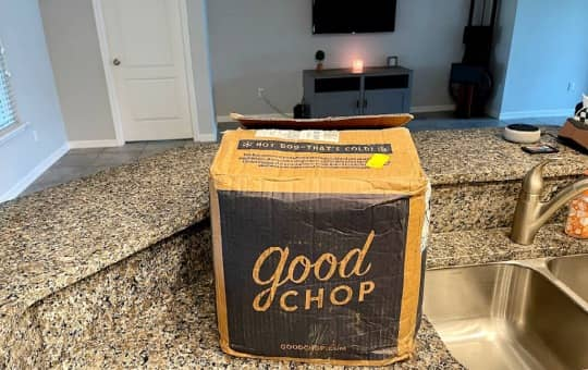 good chop meat subscription box and brand logo