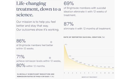 statistics that prove brightside services work