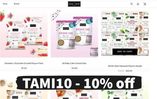 shop safe + fair website to buy