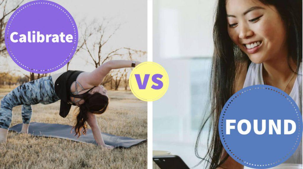 comparing calibrate versus found health featured image