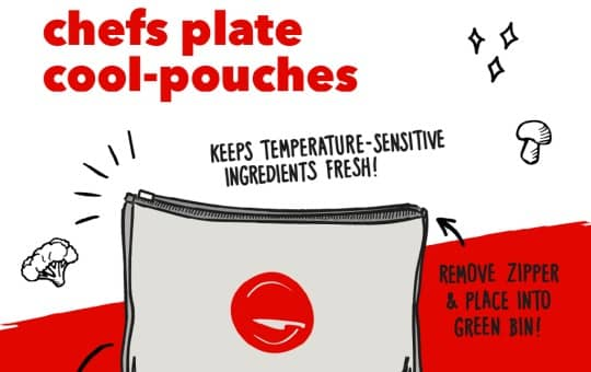 cool-pouches by chefs plate delivery team