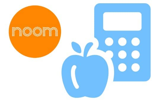noom logo and counting calories