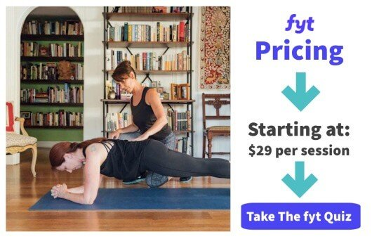 cost and pricing for find your trainer