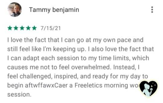 freeletics customer review 3