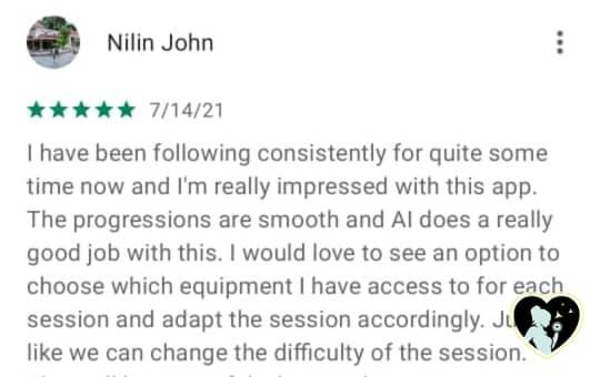 freeletics customer review 5