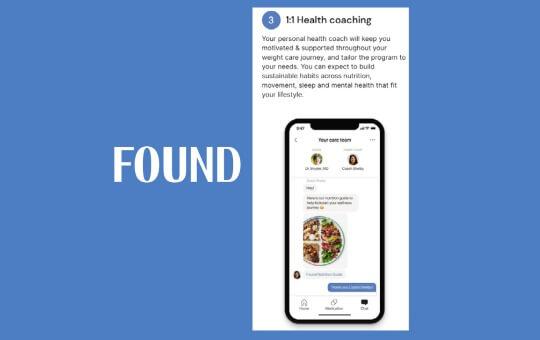 found's health coaching process