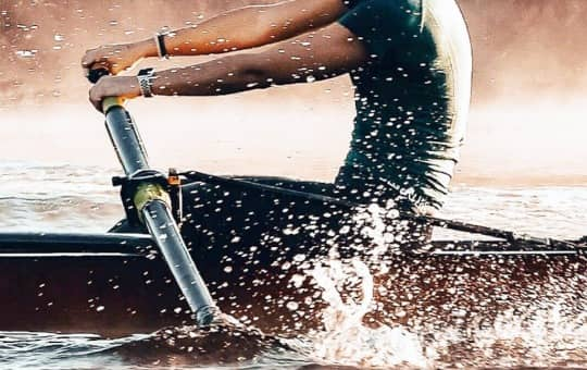 a beginner can feel like rowing on the water with hydrow
