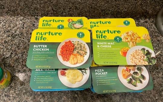 kids foods from nurture life