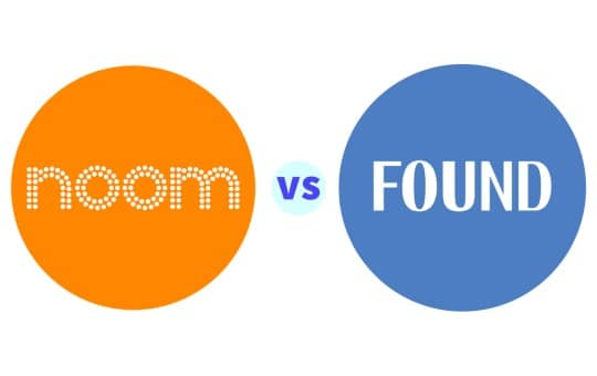 noom and found comparison table