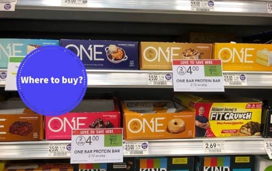 buy one bars at stores